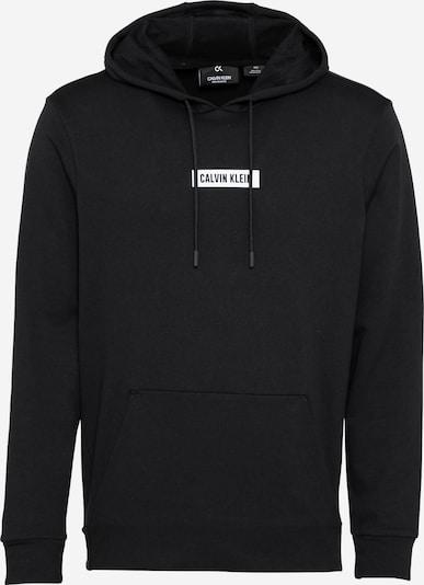 Calvin Klein Performance Športna majica | črna / bela barva, Prikaz izdelka