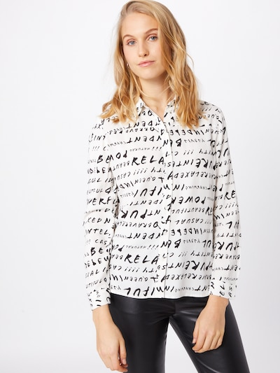 Ci comma casual identity Bluse in schwarz / weiß, Modelansicht