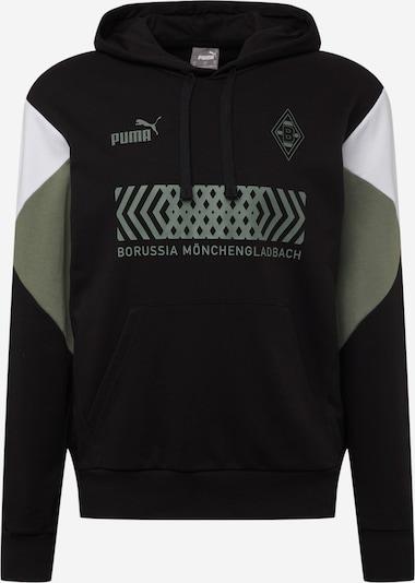 Hanorac sport 'Borussia Mönchengladbach' PUMA pe kaki / negru / alb, Vizualizare produs