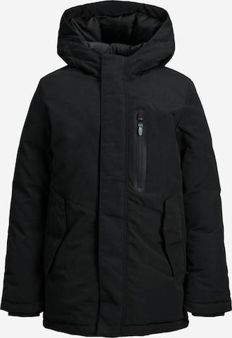 Jack & Jones Junior Coat in Black