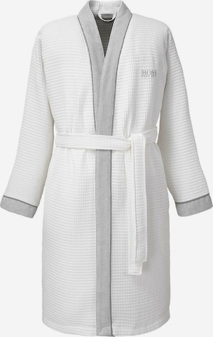 BOSS Home Long Bathrobe 'THERMS' in White