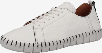 SHABBIES AMSTERDAM Sportieve veterschoen in de kleur Wit, Productweergave