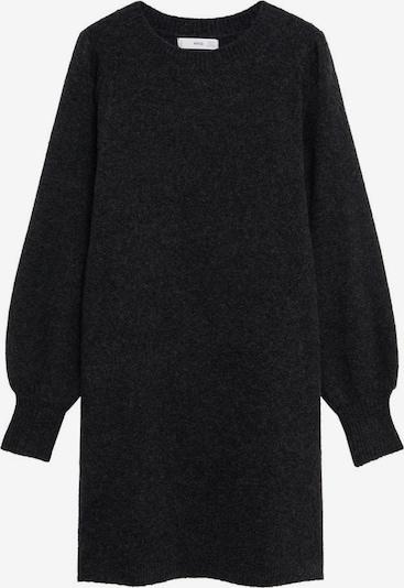 MANGO Robes en maille 'Koyo' en gris foncé, Vue avec produit