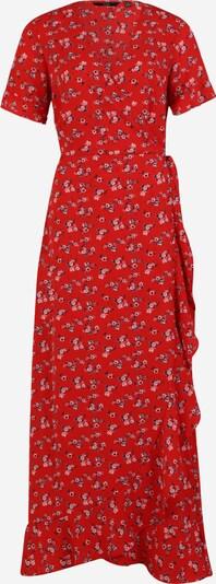 Vero Moda Tall Kleid 'SAGA' in dunkelblau / rosa / rot, Produktansicht