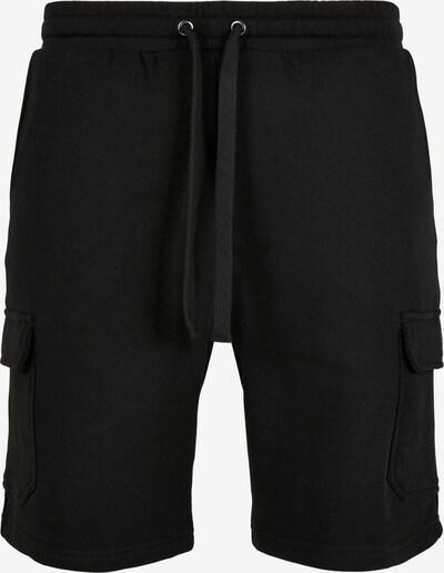 Urban Classics Big & Tall Kargo hlače | črna barva, Prikaz izdelka