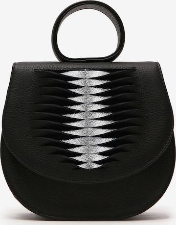Gretchen Handbag 'Ebony Mini Loop Bag Ray' in Black