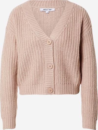 ABOUT YOU Cardigan 'Lotte Cardigan' en rose, Vue avec produit