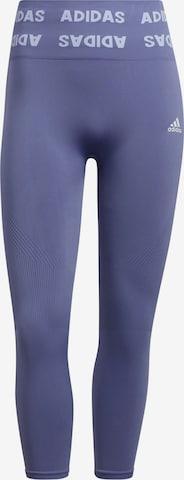 ADIDAS PERFORMANCE Спортен панталон в лилав