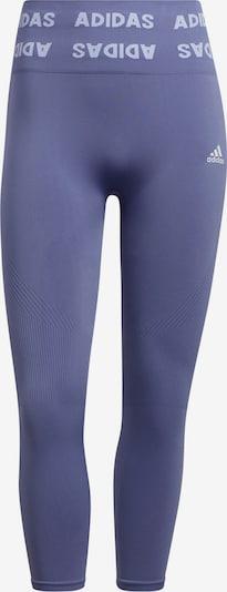 ADIDAS PERFORMANCE Sporthose in flieder / weiß, Produktansicht
