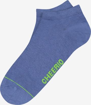 CHEERIO* Socks 'Sneaker Pal' in Blue