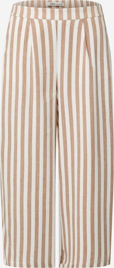 Pantaloni ONLY di colore marrone chiaro / bianco, Visualizzazione prodotti