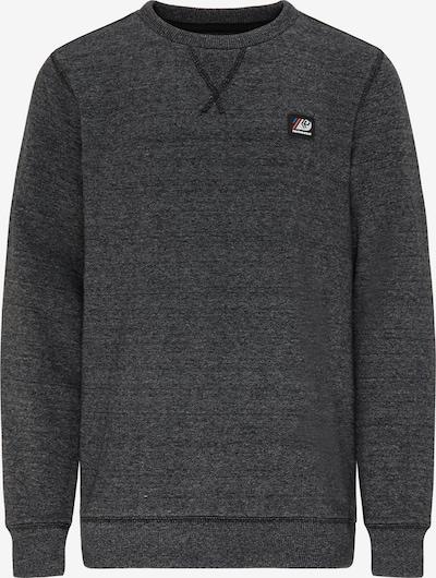 Petrol Industries Sweater in schwarzmeliert, Produktansicht