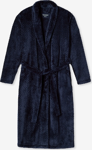 SCHIESSER Lühike hommikumantel, värv sinine