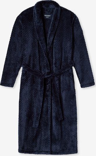 SCHIESSER Bademantel in dunkelblau, Produktansicht