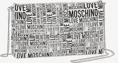 Love Moschino Umhängetasche in schwarz / weiß, Produktansicht