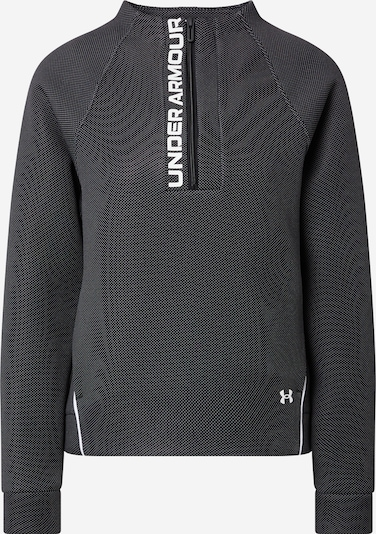 UNDER ARMOUR Sportska sweater majica 'Move' u crna / bijela, Pregled proizvoda