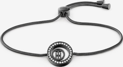 TOMMY HILFIGER Bracelet in Black / Silver, Item view
