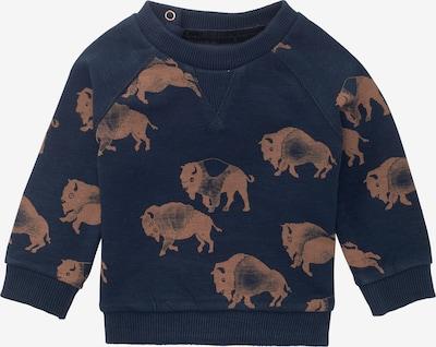 Noppies Sweatshirt in de kleur Blauw / Bruin, Productweergave