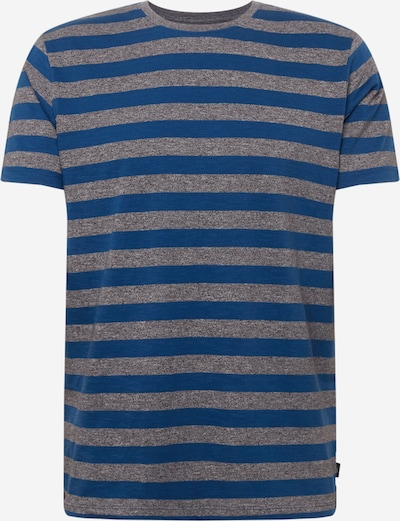 EDC BY ESPRIT Shirt in blau / grau, Produktansicht