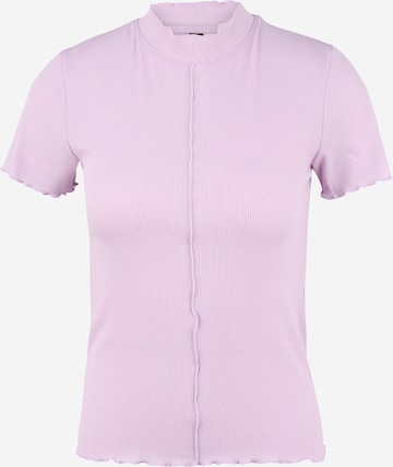 Pieces Petite Shirt 'LOANA' in Purple