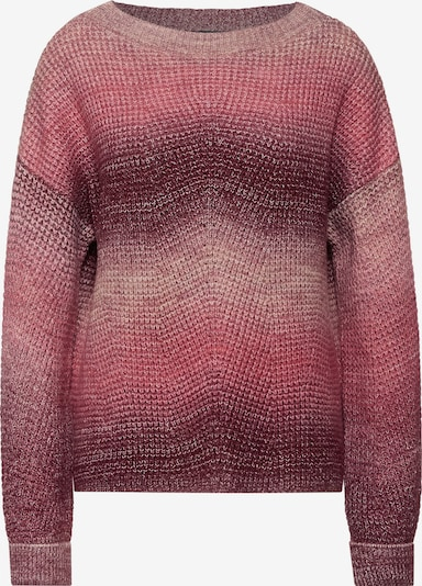 STREET ONE Sweater in Pink / Burgundy, Item view
