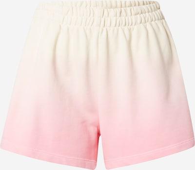 WEEKDAY Bikses 'Kama', krāsa - krēmkrāsas / gaiši dzeltens / rozā, Preces skats