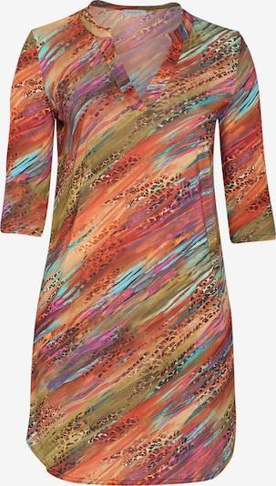 Promiss Kleid in aqua / oliv / lila / orange / orangerot, Produktansicht