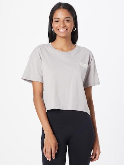 ALPHA INDUSTRIES Тениска в светлосиво: Изглед отпред