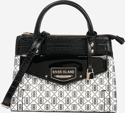 River Island Crossbody bag 'KELLY' in Black / White, Item view