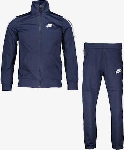 Tuta da jogging Nike Sportswear di colore blu scuro / bianco, Visualizzazione prodotti