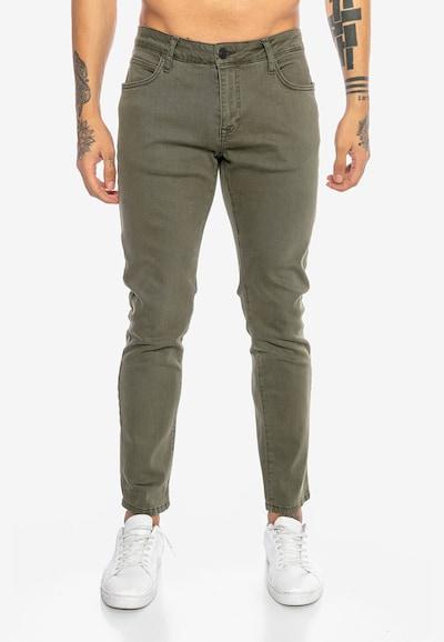 Redbridge Jeanshose 'Saitama Colored' in khaki, Modelansicht