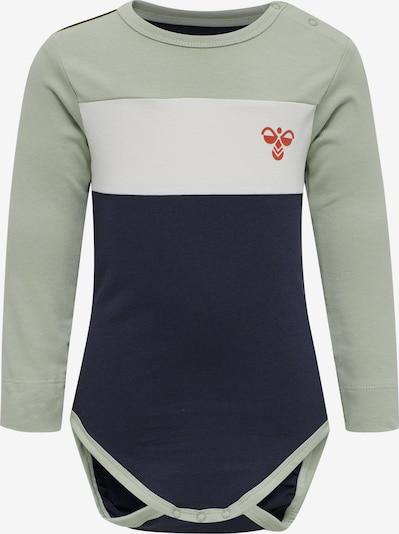 Hummel Body in navy / pastellgrün / weiß, Produktansicht