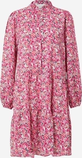 Neo Noir Skjortklänning 'Federica' i mörkgrå / pastellorange / fuchsia / ljusrosa, Produktvy