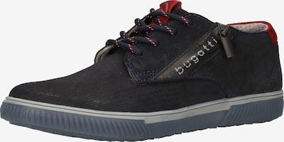 bugatti Sportovní šněrovací boty 'Pratik' - noční modrá / červená, Produkt