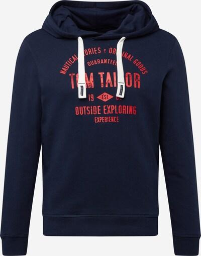 sötétkék / világospiros TOM TAILOR Tréning póló, Termék nézet