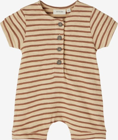 Lil ' Atelier Kids Overall 'Eddy' in Sand / Brown, Item view