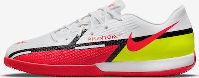 NIKE Fußballschuh in neongelb / rot / weiß, Produktansicht