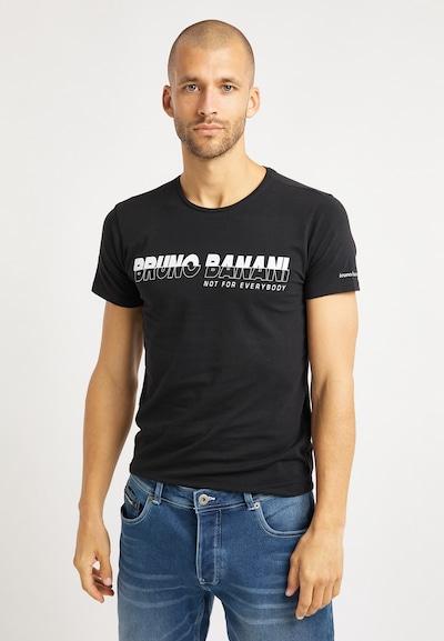 BRUNO BANANI T-Shirt en noir: Vue de face