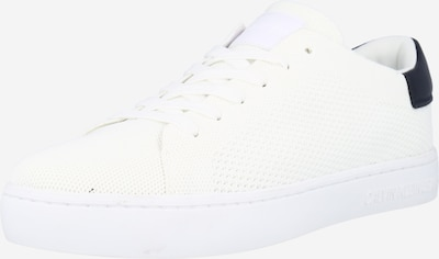 Calvin Klein Jeans Baskets basses en bleu nuit / blanc naturel, Vue avec produit