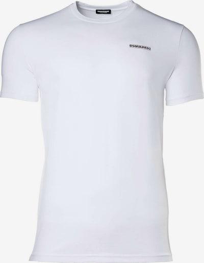 DSQUARED2  T-Shirt in rot / schwarz / weiß, Produktansicht