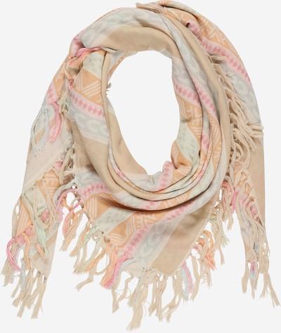 ONLY Sjaal 'ZADA' in de kleur Crème / Opaal / Lichtoranje / Lichtroze, Productweergave