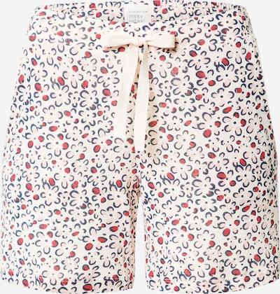 SCHIESSER Pantalon de pyjama en bleu marine / rose / melon, Vue avec produit