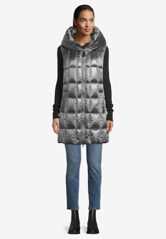 Betty Barclay Vest in Grey