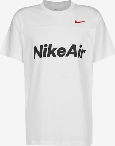 NIKE T-Shirt 'Air' in rot / schwarz / weiß, Produktansicht