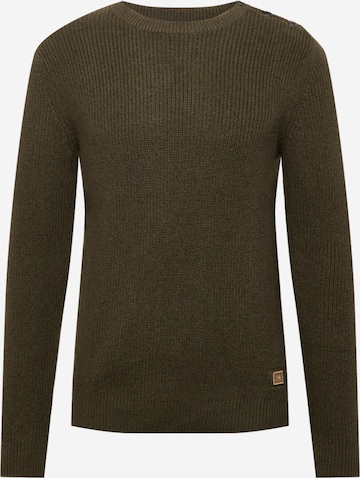 SELECTED HOMME Sweater 'Irven' in Green