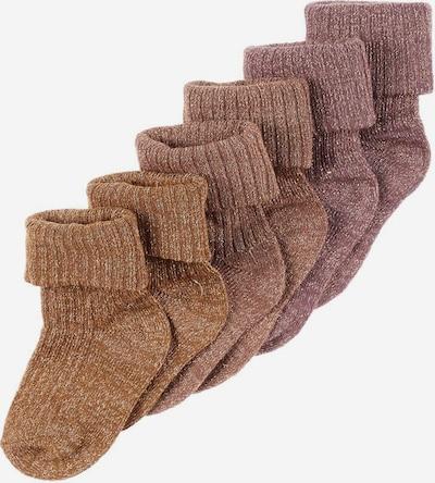 NAME IT Socken in braun, Produktansicht