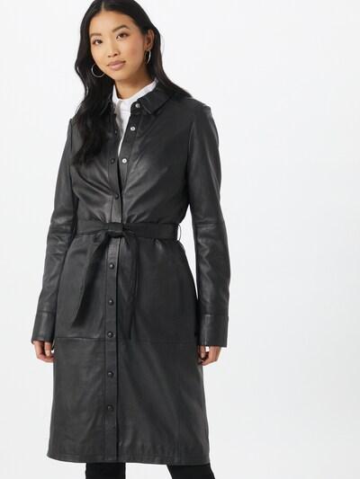OAKWOOD Mantel 'Indiana' in schwarz, Modelansicht