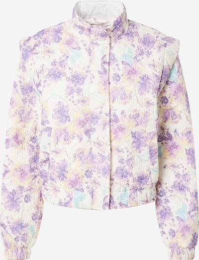 Pimkie Jacke in hellblau / hellgelb / flieder / weiß, Produktansicht