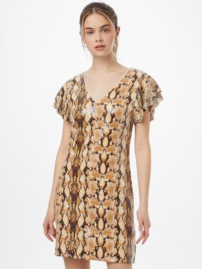 Molly BRACKEN Kleid in beige / braun / cognac, Modelansicht