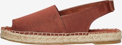 VERO MODA Sandale 'Kera' u hrđavo crvena, Pregled proizvoda